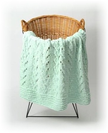 Soft Vines Blankie