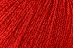 Deluxe Worsted Superwash 736 Christmas Red