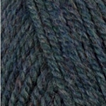 Encore Worsted 0670 Dark Green Frost Mix