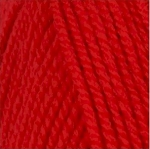 Encore Worsted 1386 Christmas Red