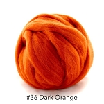 Polish Merino 36 Dark Orange
