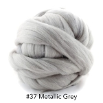 Polish Merino 37 Metallic Gray
