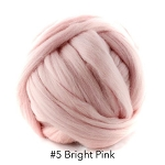 Polish Merino 5 Bright Pink